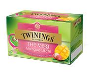 Twinings Green Mango & Litchi 20 st. (groen)