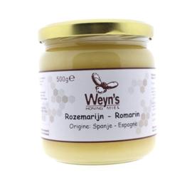 Weyn's Rozemarijn honing 500 gram (vast)