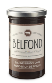 Belfond bruine Rundsfond