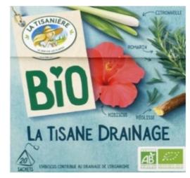 La Tisaniere Biologische Drainage thee