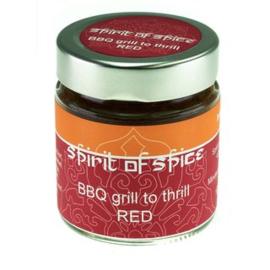 Spirit of Spice Grill to Thrill RED  (BBQ meest geschikt voor donker vlees, aardappelen en wortelgroenten)