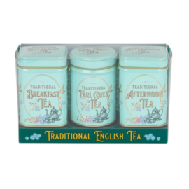 New English Tea Mini Tea Victorian 3 x 25 gram in blik