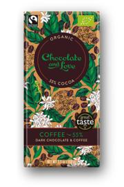 BIO Chocolate and Love Coffee 55%