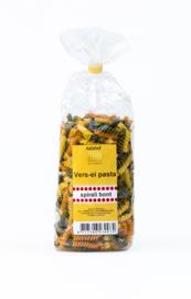 De Aalshof bonte spirali ei-pasta 500 gram