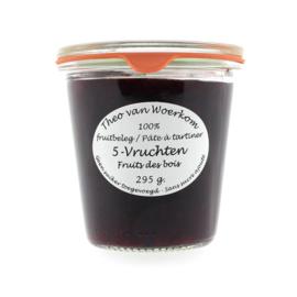 Woerkom's 5 Vruchten Confituur 295 gram LIGHT