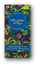 BIO Chocolate and Love Filthy Rich 71%