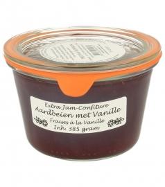 Woerkom's aardbeien vanille confituur