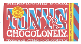 Tony's Chocolonely Melk Karamel Shortbread
