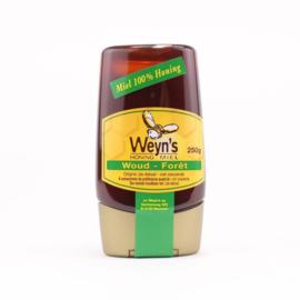 Weyn's Italiaanse Woud Honing doseerfles 250 gram (vloeibaar)