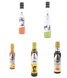 Cretan Mythos Griekse olijfolie en Balsamico Vinegars Nectar