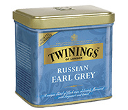 Twinings Losse thee in blik Russian Earl Grey 150 gram