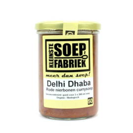 Delhi Dhaba soep (Rode nierbonen curry)