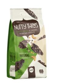 BARÚ Nutty Thins Roasted Cashew & Caramel (6 zakjes)
