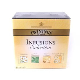 Twinings Full Box tea & infusions 12x10 st.