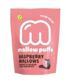 Baru Frambozen Marshmallows in Donkere Chocolade