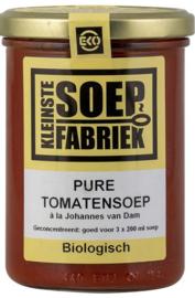 BIO pure Tomatensoep Johannes van Dam Kleinste Soepfabriek