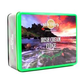 Mrs Tilly's Irish Cream fudge gift tin