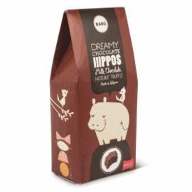 BARÚ Gourmet Hippo Milk Chocolate Hazelnut truffle