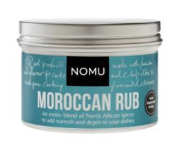 NOMU Morrocan Rub (vlees, gevogelte, zeevis, schaaldieren,  groente, couscous, lamsvlees, pompoen en zoete aardappel)