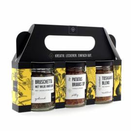 Wajos Kruiden Cadeauset (Patatas Bravas, Wild Garlic, Tuscany blend)