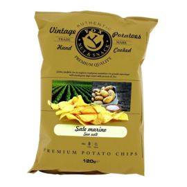 Fox Vintage Potatoes Chips Zeezout 120 gram