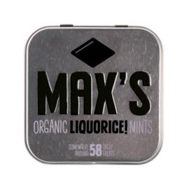 Max's Biologische Liquorice Mints