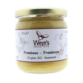 Weyn's Frambozen Honing 500 gram (vast)