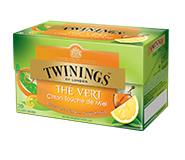 Twinings Citroen & Honing 20 st. (groen)