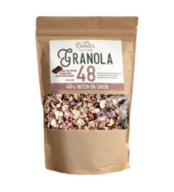 Camile's Granola 1 kilo (48% zaden en noten met chocolade)