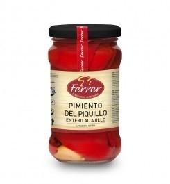 Pimiento del Piquillo al Ajillo (geroosterde paprika met knoflook)