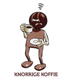 ChocoladeBikkel Knorrige koffie
