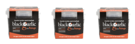 3 potjes Zwarte knoflook gepelde teentjes 50 gram