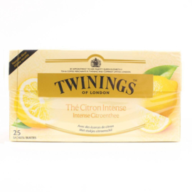 Twinings Lemon Intense 25 st. (zwart)