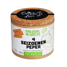 Natural Spices 4 Seizoenen Pepers