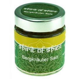 Spirit of Spice Bergkräuter Salz (donker vlees, kruidenboter, salades en aardappelgerechten)