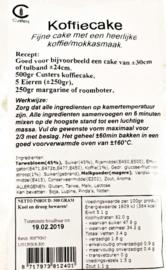 Custers koffiecake 500 gram