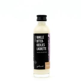 Wajos Vanille bitterkoekjes likeur 40 ml.