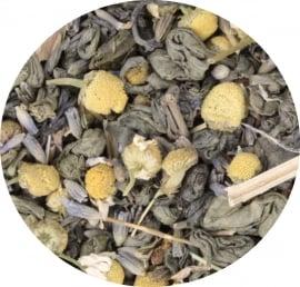 Onthaasten: groene thee BIO (65 gram)