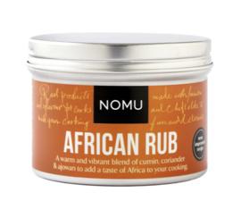 NOMU African Rub BBQ (vlees, gevolgelte, zeevis en schaaldieren of groente)