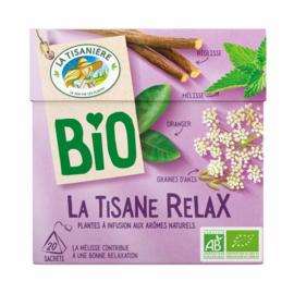 La Tisaniere biologische Relax thee