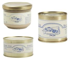 Handsaeme Foie Gras (Gans, Everzwijn & Eend)