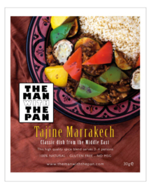 The MAN with the PAN Spice Blend kruidenmix Marrakech Tajine