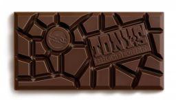 Tony's Chocolonely Puur 70% met Voor de Zomaar label