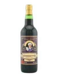 Oma's Recept - Vruchtenwijn Vlierbessen 12%