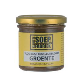 Vloeibaar Bouillonblokje Groente BIO Kleinste Soepfabriek
