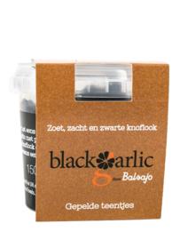 Zwarte knoflook gepelde teentjes 150 gram