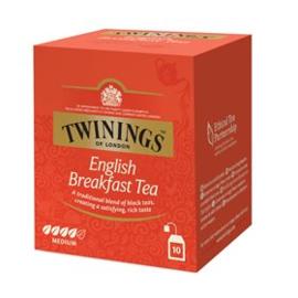 Twinings English Breakfast 10 st. (zwart)