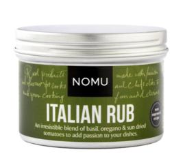 NOMU Italian Rub BBQ (pastasaus, risotto, vlees, kip, vis en groenten, pizza, lasagne)