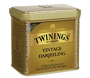 Twinings Losse thee in blik Vintage Darjeeling 180  gram