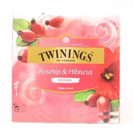 Twinings Rosehip & Hibiscus 100 st.